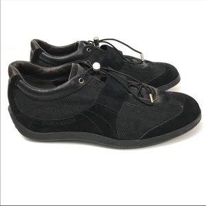 Louis Vuitton Chrono Damier Black Strap Sneakers